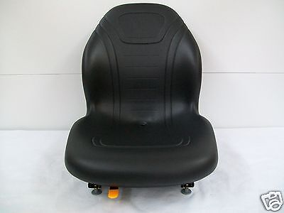 Black Seat Bobcat, Ford, New Holland,case,john Deere,gehl Skid Steer Loaders #ce