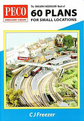 Peco Railway Modeller Book of 60 '00' Small Locations Track Plans - Express Post