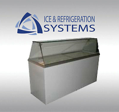 "Fricon 70"" Commercial 12 Flavor Ice Cream / Gelato Dipping Cabinet Freezer Cdc70"
