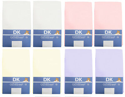 Super Soft Jersey Cotton TOP QUALITY DK Fitted Pram/Carrycot Sheets 74 x 28 cm