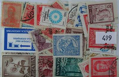 Argentina, 100 stamps (499)