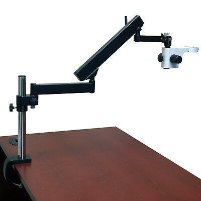 Articulating Arm Boom Stand with 40cm High Vertical Post