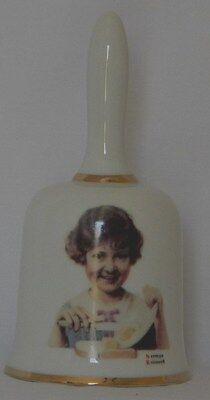 Norman Rockwell's Butter Girl Bell, 1976 Limited Edition, original box