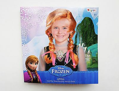 Disney - Frozen - Anna Wig Child Youth Costume Dress-Up Accessory