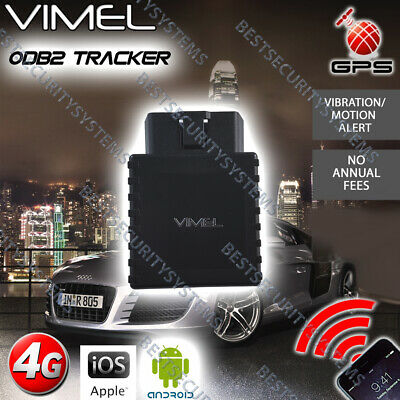 4G GPS Tracker OBD2 Hardwired Power Real Live Tracking Device Anti Theft Car 3G
