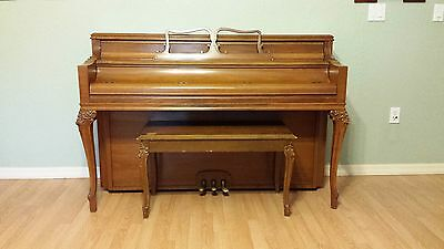 Antique Chickering & Sons 1823 Upright Piano