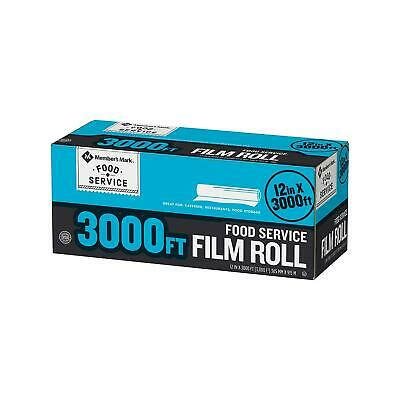 Daily Chef Food Service Plastic Saran Storage Film Wrap - 12 X 3000 feet