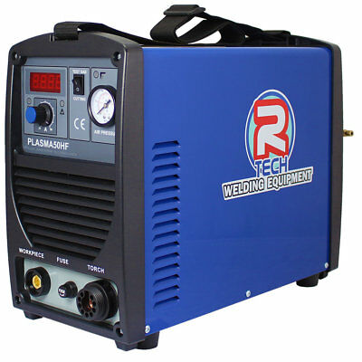 PLASMA CUTTER 50Amp 240V 24mm Cut, R-Tech P50HF - 0% Finance Available