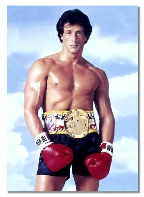 Rocky Balboa 8 Sylvester Stallone Motivation Boxing Movie Film Photo Poster