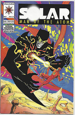 Valiant Comics SOLAR MAN OF THE ATOM 25 September 1993 Doctor Eclipse