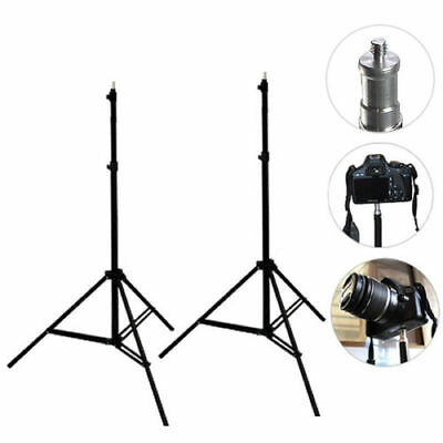 Photo Studio Foldable Video Umbrella Soft Box Lighting Stand Support Tripod Kit
