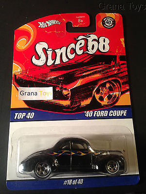Hot Wheels Since '68 Top 40 '40 Ford Coupe #18 of 40 M1549