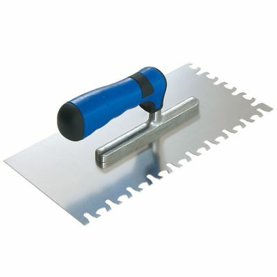 Sigma 49H No-Air Stainless Steel Trowel for Large Format Tiles 28x13cm