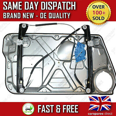 Vw New Beetle Complete Electric Window Regulator With Panel Front Right Side New