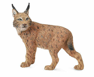 *BRAND NEW* LYNX MODEL ANIMAL by COLLECTA *FREE UK POSTAGE*