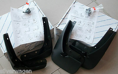 Genuine VW Golf Mk7 GTD Mudflaps Full Set **BRAND NEW** Front & Rear Mud Flaps