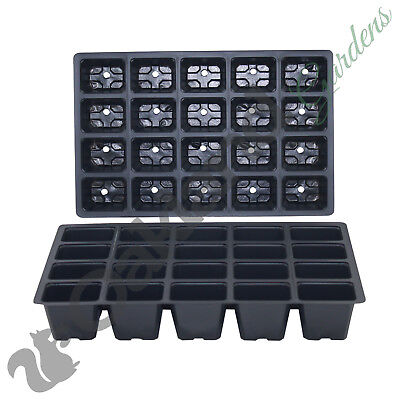 10 X Inserts 20 Cell Full Size Seed Tray Trays Bedding Cavity Pack