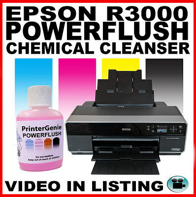 Printhead Cleaner For Epson Stylus Photo R3000 Nozzle Cleanser & Unblocker