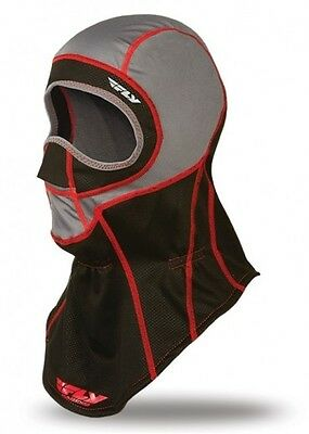 Fly Ignitor Balaclava Snowmobile Facemask Adult Black/red Large/extra Large