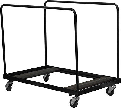 Flash Furniture Black Folding Table Dolly for Round Folding Tables