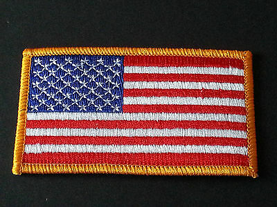 NATIONAL WORLD COUNTRY EMBROIDERED FLAG SEW/IRON ON PATCH:- UNITED STATES ( b )
