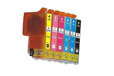 6 Non-OEM T277 T2771-T2776 ink cartridge for Epson expression XP-850 XP-950