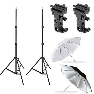 Photography Light Stand Speedlite Umbrella Lighting/Bracket B/Umbrella Optional
