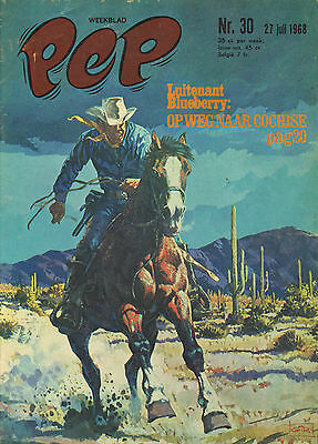 PEP 1968 nr. 30 - BLUEBERRY (COVER) / FOUGA MAGISTER / VARIOUS COMICS
