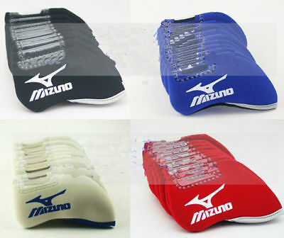 10 pcs/set Golf Neoprene Iron Covers Club HeadCovers For Mizuno