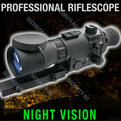 Riflescope Rifle Scope Night Vision Hunting Trail Tracker IR Gen Professional