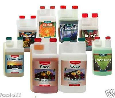 Canna Coco A & B & Additives Complete Pack