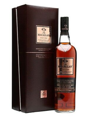 Macallan Oscuro Single Malt Scotch Whisky 700ml