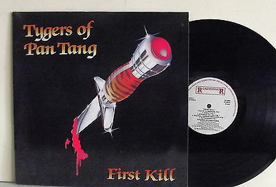 "Lp-Tygers Of Pan Tang-""first Kill""-Olanda 1986-Mint"