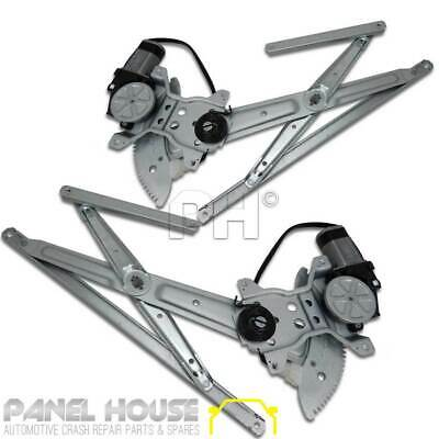 Toyota Landcruiser 80 Series Window Regulator PAIR 90-98 LH RH Front With Motor