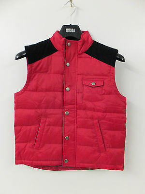 Childrens Kids Barbour Hiltop Gilet Jacket Red NEW with Tags (RRP£79.95) DA32