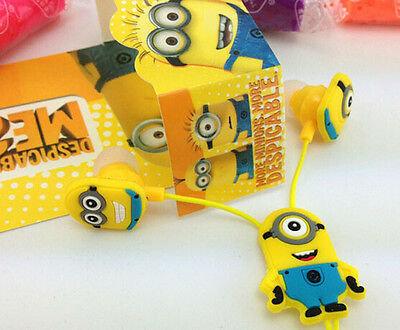 Despicable Me The Minion 3.5mm In-ear Headphone Earphone Headset 4 Styles
