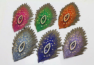 6pcs NEW  Embroidered Cloth Iron On Patch Sew Motif Applique 6cm*10cm