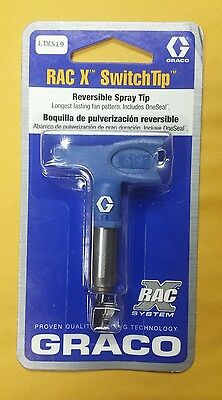 NEW Graco RAC X Reversible Switch Tip 519, #LTX519