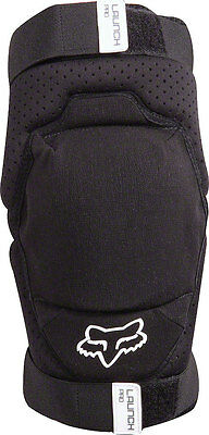 Fox Racing Launch Pro Protective Knee Pad: Pair Black LG/XL