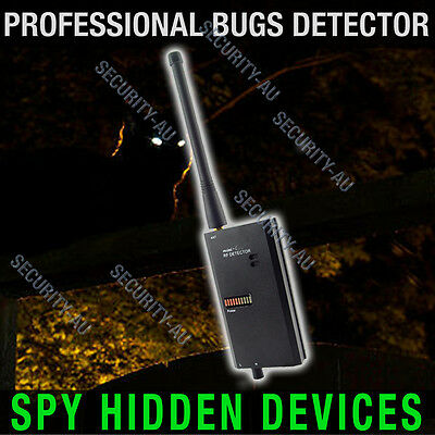 Spy Phone Detector Cameras Wireless GSM Bugs GPS Finder Locator Monitor Anti