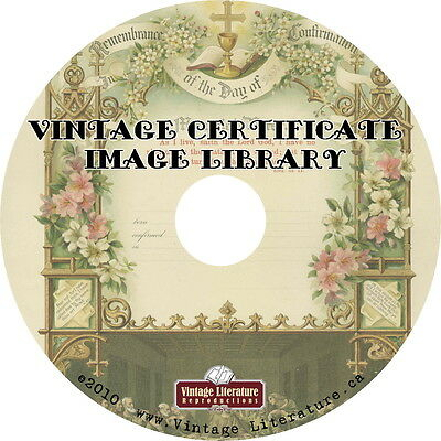 Images of Certificates { Baptism ~ Birth ~ Marriage ~ Family Tree } on DVD
