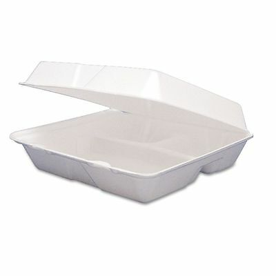 Dart Takeout Foam Clamshell Food Containers  - DCC95HT3R