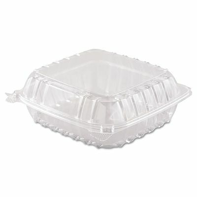 Dart ClearSeal Takeout Plastic Clamshell Food Containers - DCCC90PST1