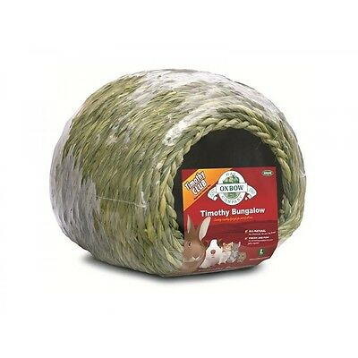 Oxbow Timothy Bungalow Medium,edible hideout for rabbits guinea pigs