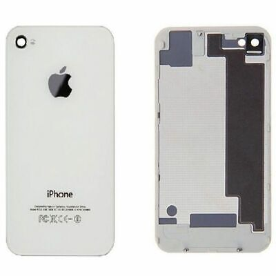 Tapa Trasera de cristal para Apple iPhone 4S Blanco