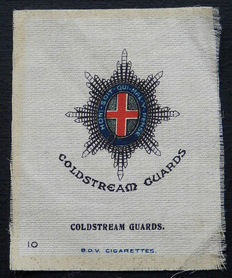 COLDSTREAM GUARDS Large SILK issued in 1914