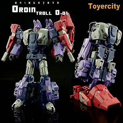 Transformer Unique Toys UT Ordin O-01 Troll