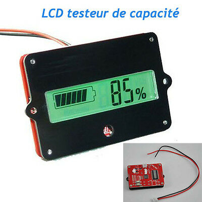 lcd indicateur testeur de capacit pour 12v 48v lithium batterie eur 4 87 picclick fr. Black Bedroom Furniture Sets. Home Design Ideas