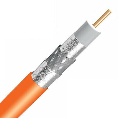 1000ft CommScope RG6 18AWG UL ETL Rated 60% Braided Professional COAXIAL Cable