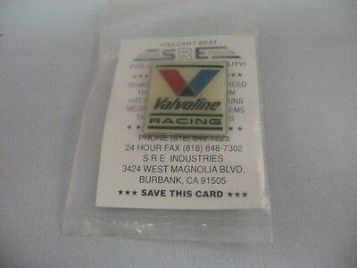 Hard to Find Design VALVOLINE RACING Enamel Lapel Pin Pinback ~